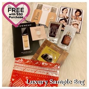 Luxury Makeup & Skincare Sample Bag